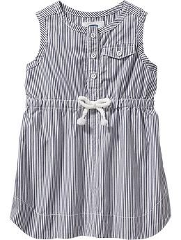 Striped Sleeveless Dresses for Baby | Old Navy