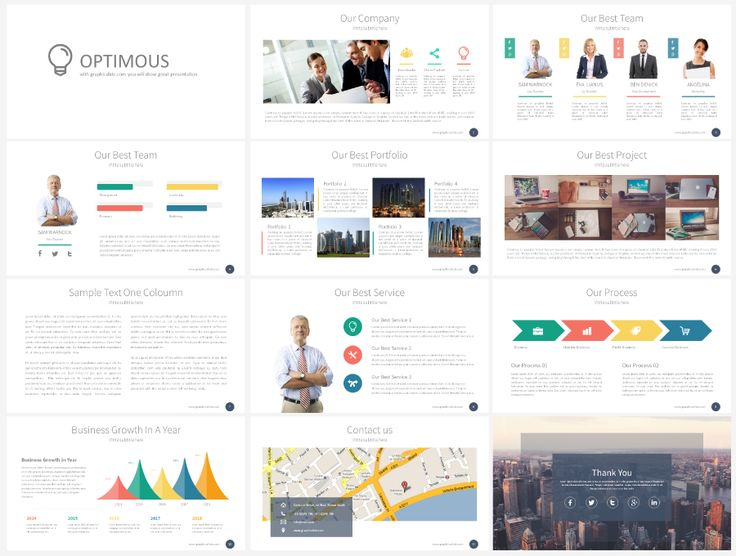 Stock Powerpoint Templates - Free Download Every Weeks   Weekly Free Download - Optimous Presentation Template