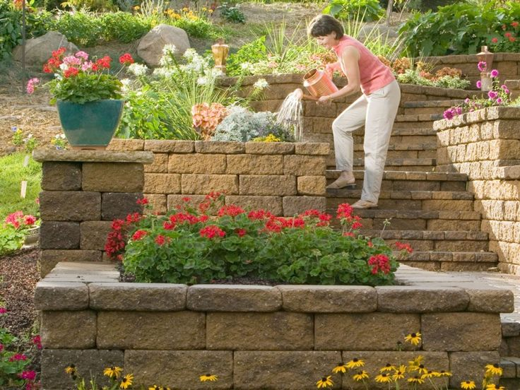 Retaining Wall Ideas | Gallery Of Retaining Wall Ideas That Will Appeal  Your Yards