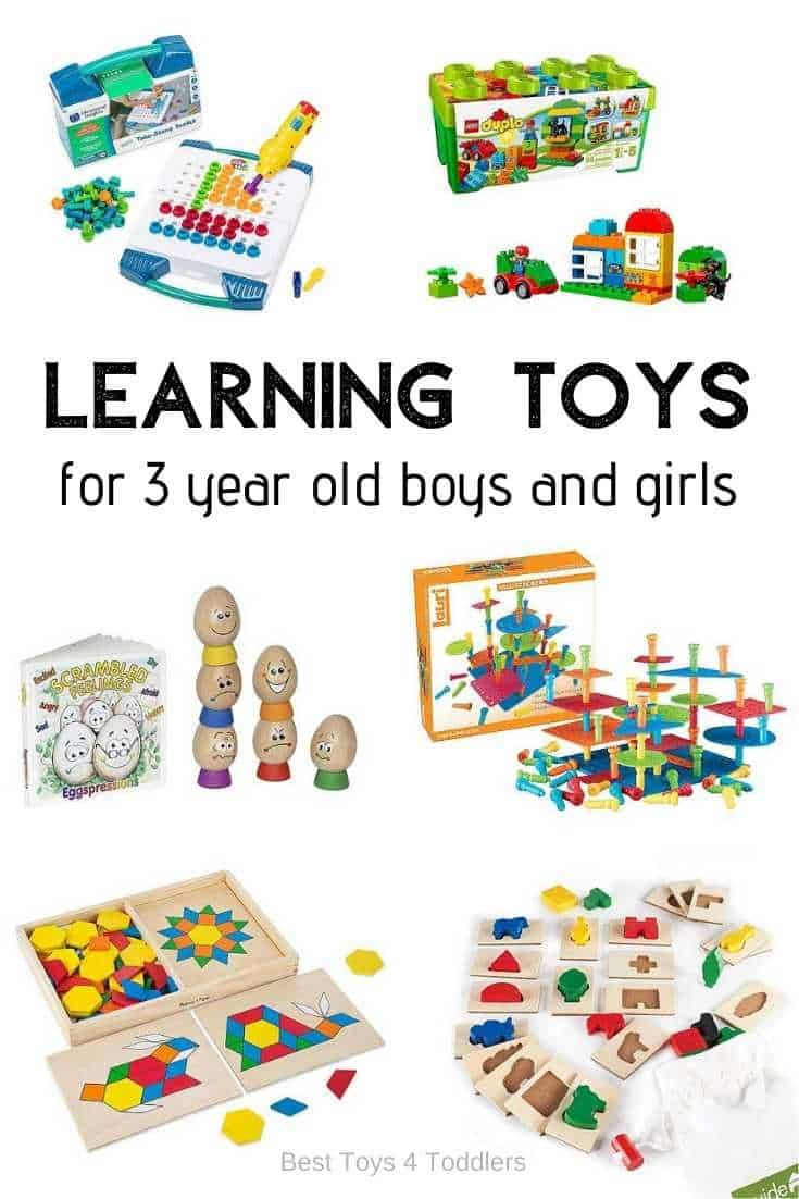 Top 10 Educational Toys For 3 Year Old Boys And Girls 3 Year Old Toys 4 Year Old Toys Gifts For 3 Year Old Girls