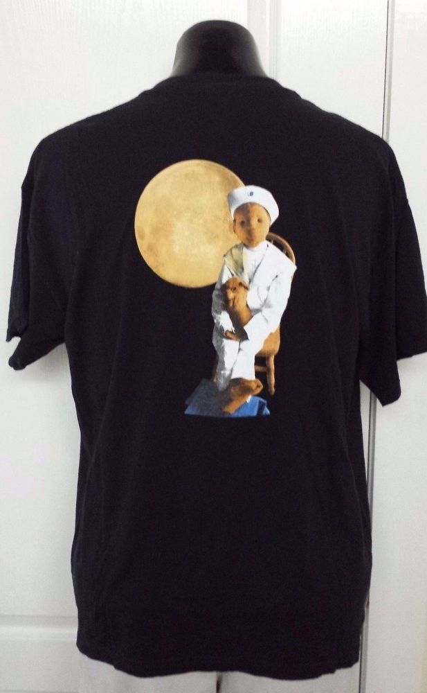 "Robert The Doll ""Robert Did It"" Horror Movie Urban Legend Black T-Shirt XL Rare! #Gildan #GraphicTee"