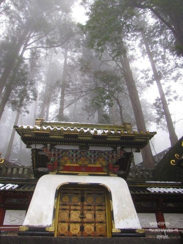 Nikko Japan, old samurai temple