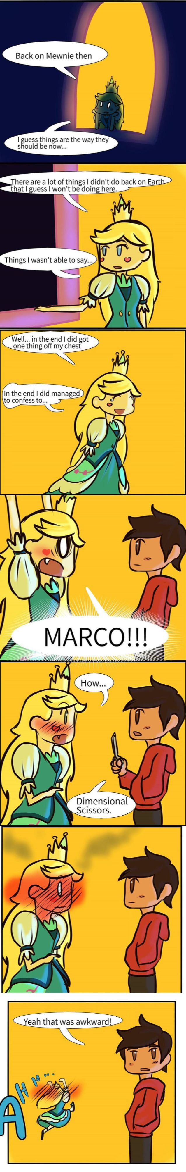 I can't wait until Star and Marco meet again!!!  Credit to leonardofrei on tumblr  |Star vs the Forces of Evil|