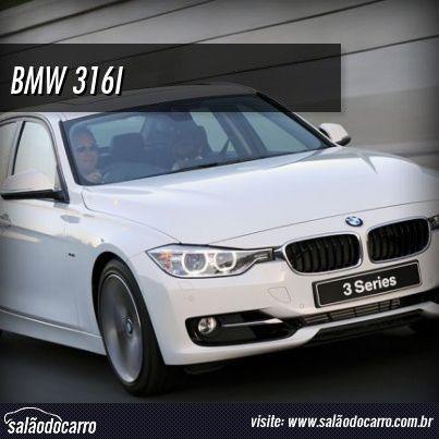 BMW 316i chega ao Brasil por R$ 114.950  » www.salaodocarro.com.br/mercado/bmw-316i.html
