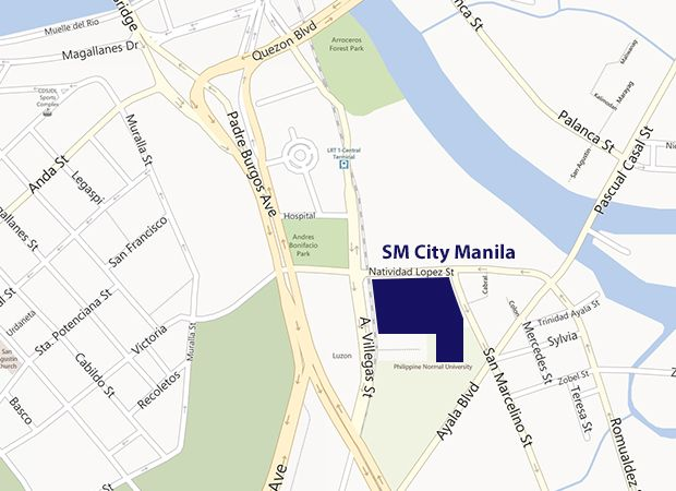 Your Map Guide In Going To Dfa Sm Manila Dfa Philippine Passport Pinterest