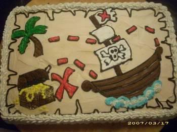 Pirate Sheet Cake photo pirate-party-cake.jpg