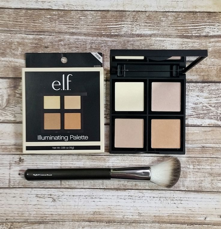 Supposed to be a dupe for Hourglass Ambient Lighting Powders...idk, but worth the $6! e.l.f. Illuminating Palette Review & Swatches