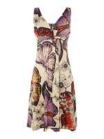 Izabel London Brush Stroke Print Dress
