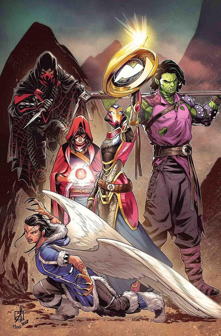 Champions (20162018) 25 Comic art, Marvel comics