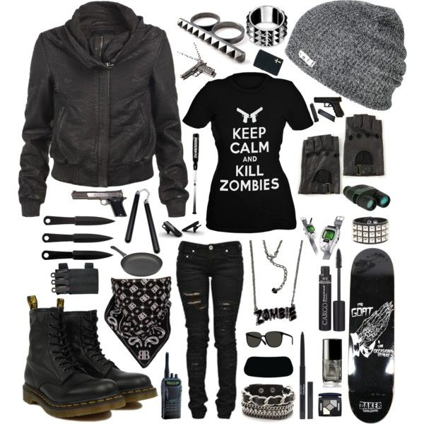 Zombie Apocalypse, created by mandi-vinny on Polyvore