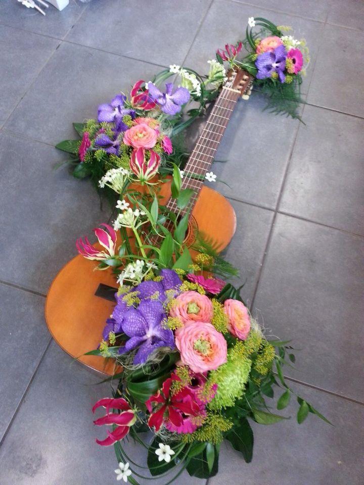 Persoonlijk #rouwwerk voor #gitarist
