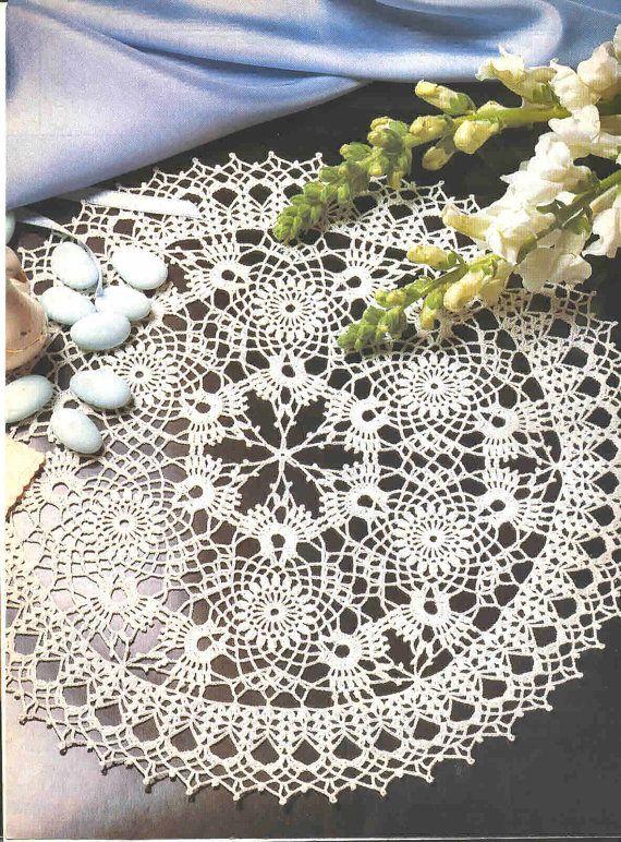 Crochet Doily Charisma Magic Crochet Magazine by CrochetMiracles, $19.00