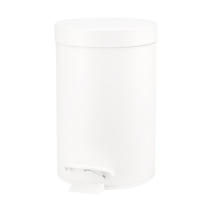 3L White Rubbish Bin | Kmart