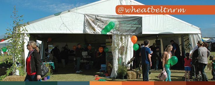 Drop in to the Wheatbelt NRM Supertent at Dowerin Field Days.