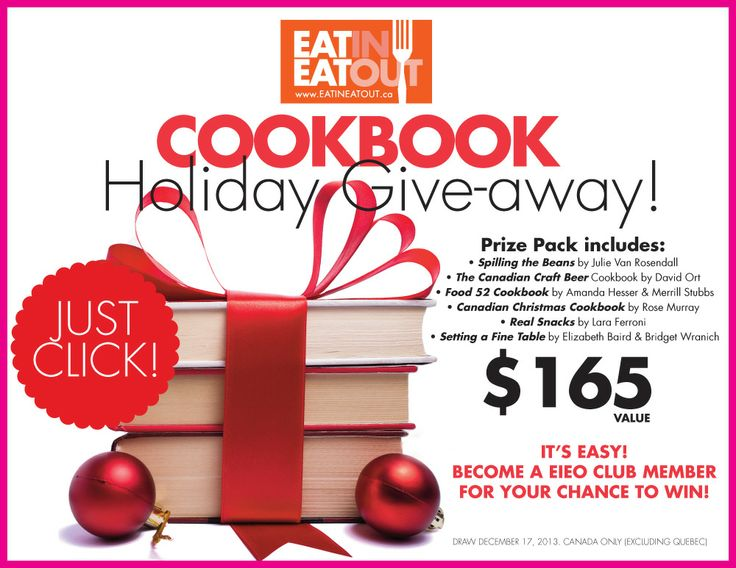 Contests | Eat In Eat Out Magazine