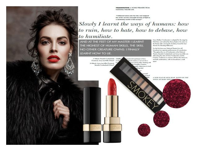 """""""Beauty"""" by thisismedika on Polyvore featuring beauty, Dolce&Gabbana, Forever 21 and Topshop"""