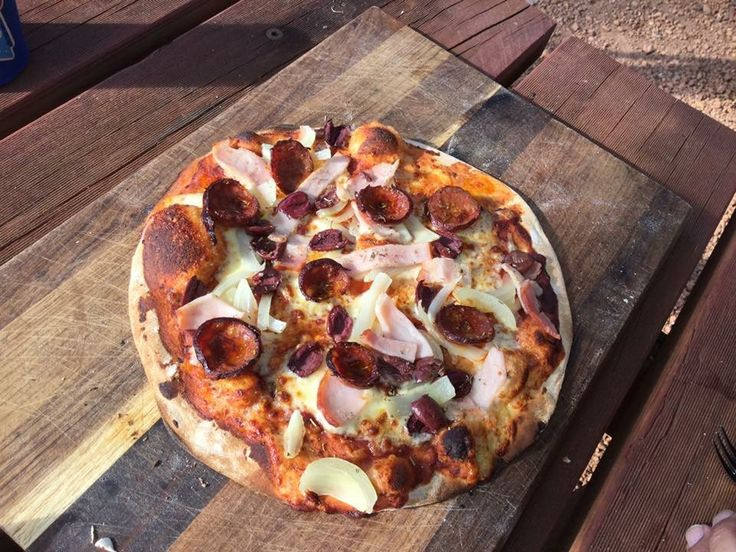 Kaylaanaretreat are loving their alfresco oven and are cooking up great pizzas