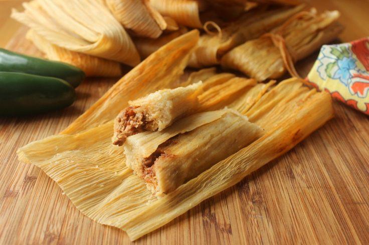 Authentic Homemade Tamales -YUM!