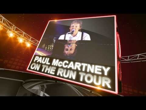 """Get Paul McCartney - """"On The Run Tour"""" 2012 Tickets: http://www.ticketcenter.com/paul-mccartney-tickets or call 1-888-730-7192 (toll free)."""