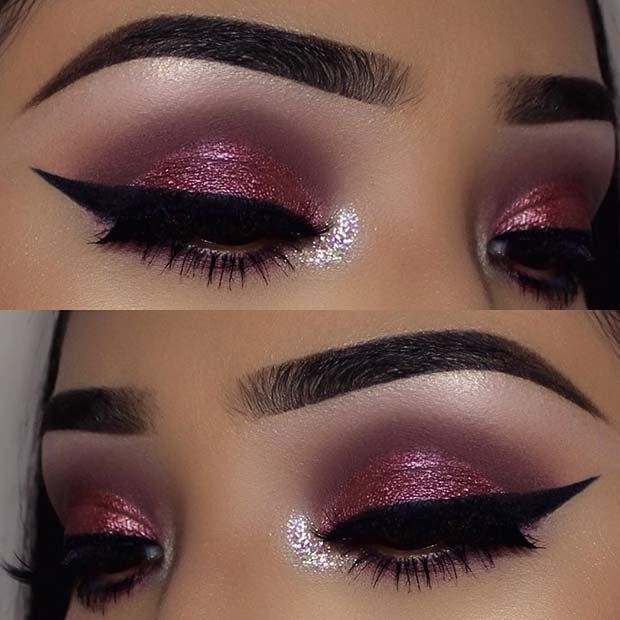 43 Glitzy Nye Makeup Ideas Stayglam Beauty Silver Eye Makeup