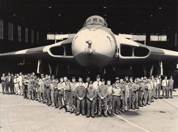 #xh558Waddington The mighty Vulcan after modification of the refueling probe prior to it's departure to the Falkland Islands in 1982, where it bombed the runway at Port Stanley, 'Operation Black Buck'. This is GEF at RAF Waddington