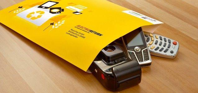 Altes Handy entsorgen: Elektrogeräte kostenlos per Post recyclen