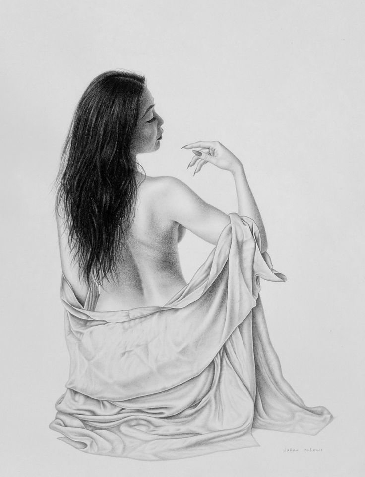 graphite pencil on paper