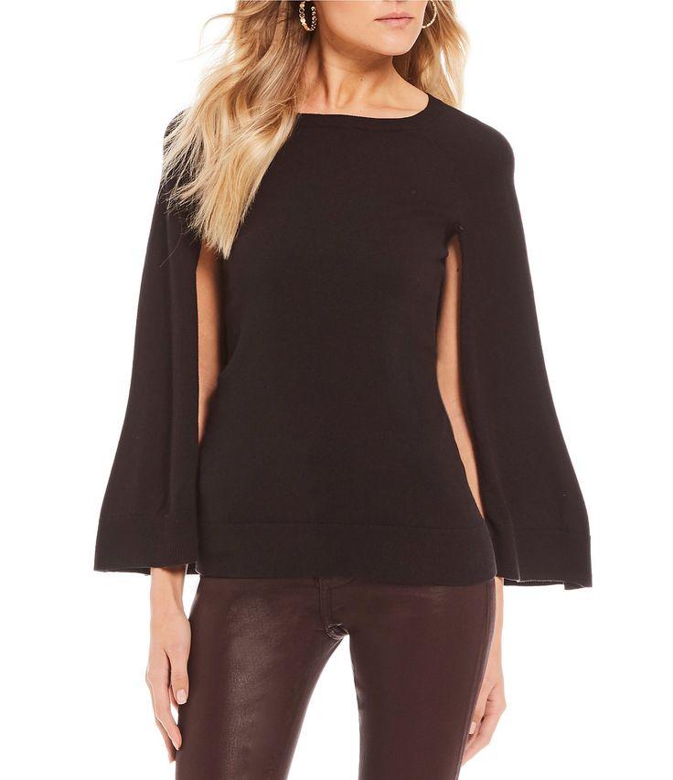 Trina Turk Fern Dell Cape Sweater #Dillards