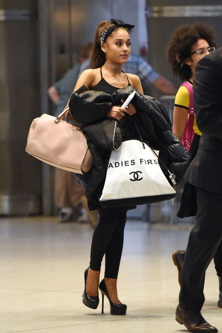 Ariana Grande at JKF airport in New York