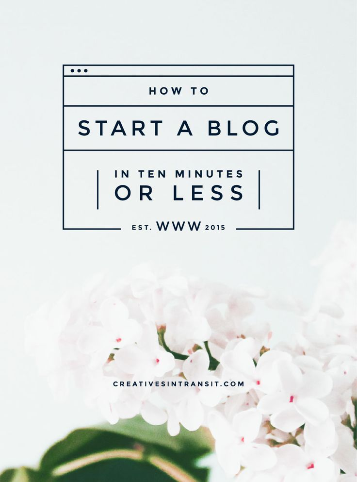 How to start a blog on Wordpress in ten minutes or less. The simple way to start your blog.
