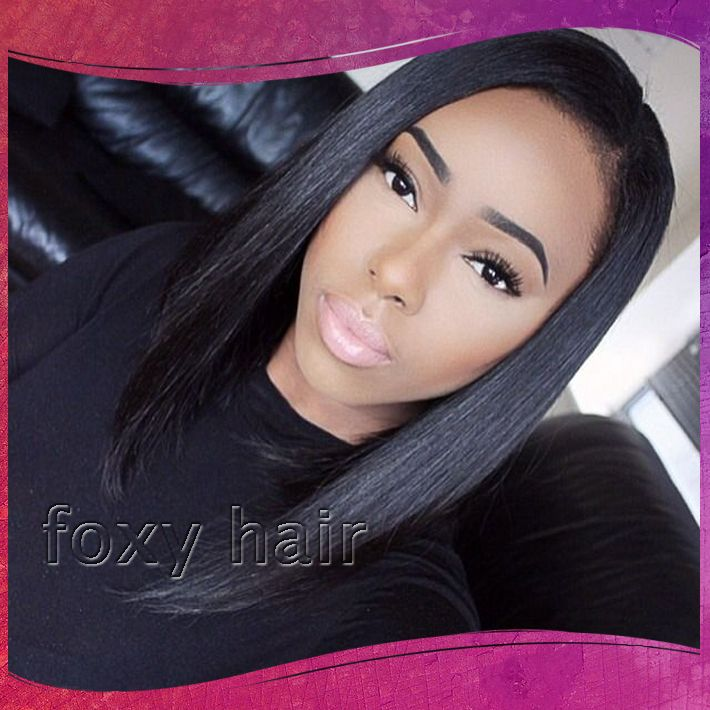 Pre Plucked Full Lace Wigs With Bleached Knots
