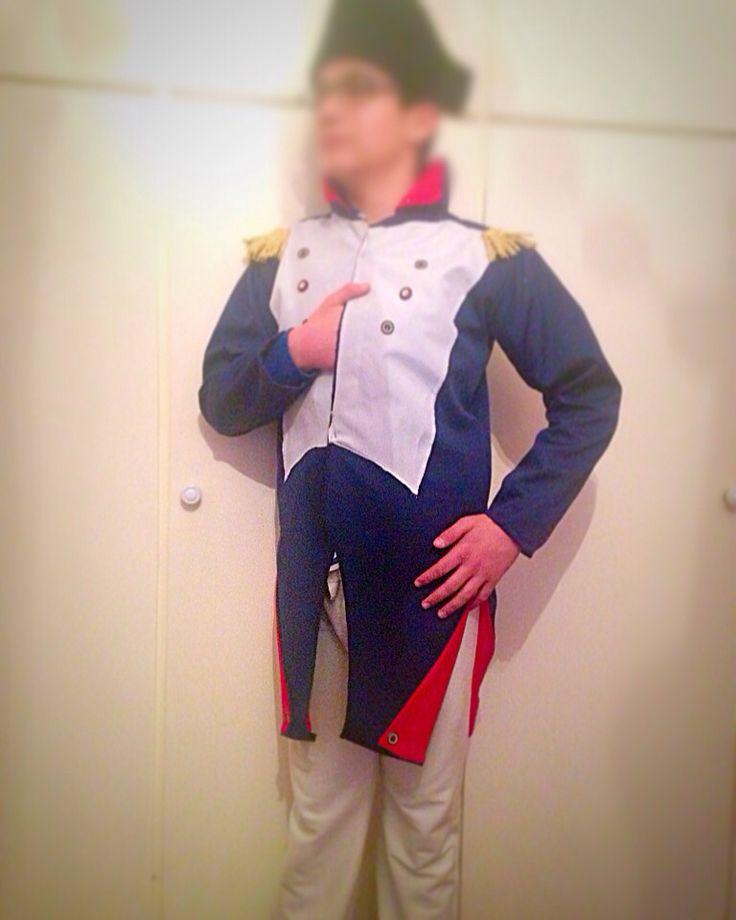 Napoleon Bonaparte!!!! Haloween costume!!!!! ⚜