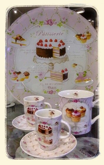 Patisserie collection...BOWRING