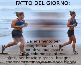 #Dimagrire correndo
