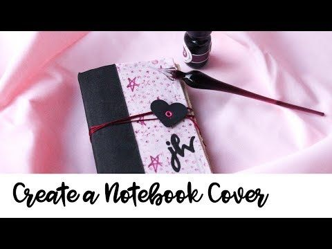 Watch a YouTube tutorial on How to Make a Notebook Cover