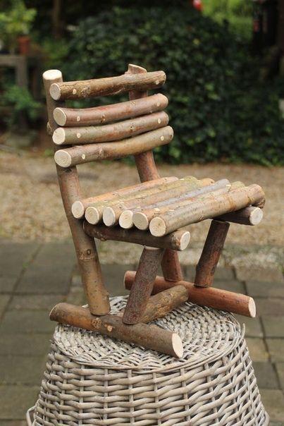 15 DIY Stuhl Designideen aus Abfallstoffen in der Nähe