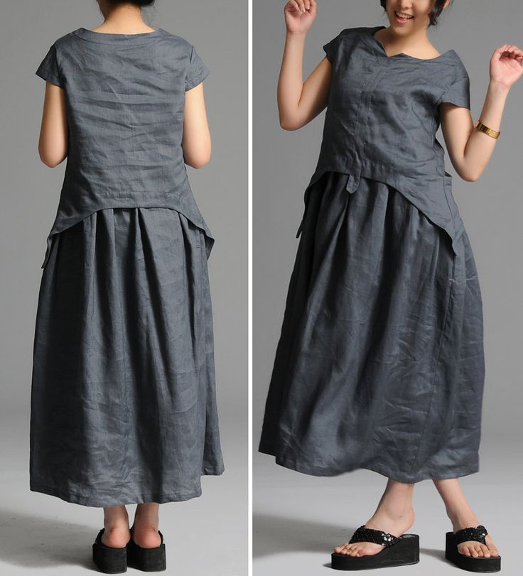 Wow! $69.00 relaxed, easy-to-breathe dress.