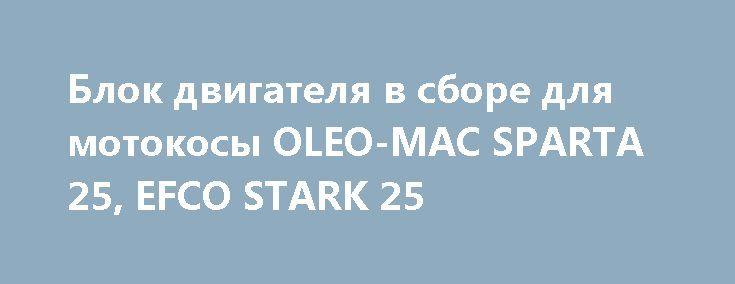 Блок двигателя в сборе для мотокосы OLEO-MAC SPARTA 25, EFCO STARK 25 http://brandar.net/ru/a/ad/blok-dvigatelia-v-sbore-dlia-motokosy-oleo-mac-sparta-25-efco-stark-25/  Блок двигателя в сборе для мотокосы OLEO-MAC SPARTA 25, EFCO STARK 25 оригинальная запасная часть произведенная компанией EMAK. ►схема -1 ► номер детали - 2. Компания EMAK выпускает моторный инструмент под марками OLEO-MAC и EFCO Наш магазин для мастеров может предложить продукцию любого ценового диапазона, от самых дорогих…