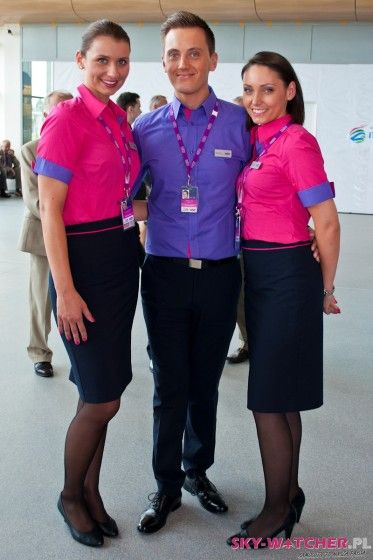 Wizz Air Cabin Crew Stewardess Uniform Pinterest Cabin