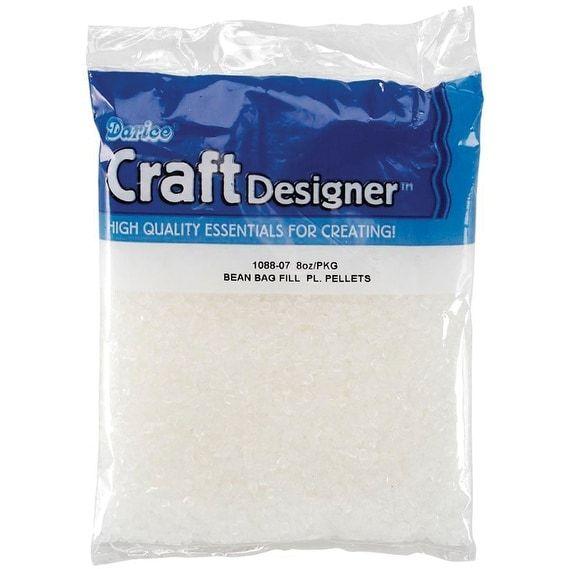 Darice Beanbag Filler Plastic Pellets-8oz - 8oz