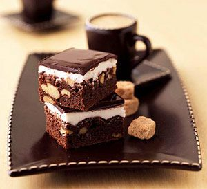 Our brownie recipes offer traditional chocolate bars plus variations with frosting, cream