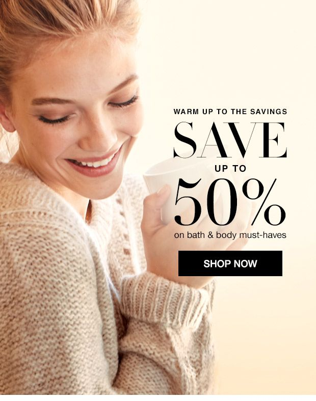 Don't miss out! Save up to 50% on Bath and Body must haves when you shop Avon online at www.youravon.com/MelissaGreenleaf