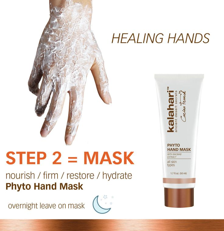 Leave your Phyto Hand Mask on overnight and wake up to deeply nourished and hydrated hands!