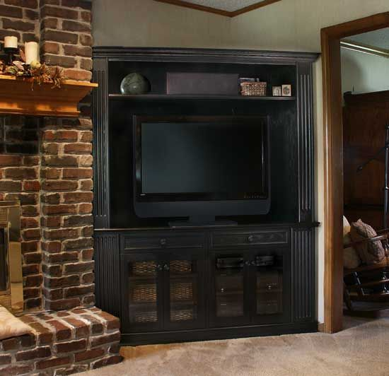 Oak Corner Tv Cabinet Furniture WoodWorking Projects Amp Plans