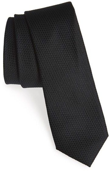 Men's Calibrate Seattle Textured Silk Tie