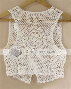 Free Crochet Patterns To Print | CROCHET A VEST | Crochet For Beginners: