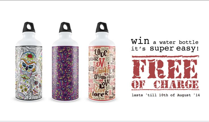 WIN a free water bottle with Eggworkshop design? It's super easy! Just Follow the link at www.eggworkshop.pt.vu - Hurry! It lasts 'till 10th of August '14. - Good luck!  #eggworkshop #promo #waterbottle #free #design