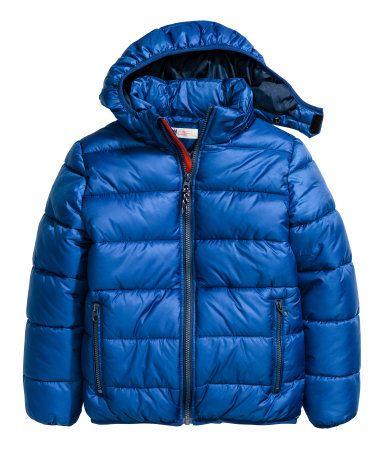 Wattierte Winterjacke | Kornblumenblau | Kinder | H&M DE