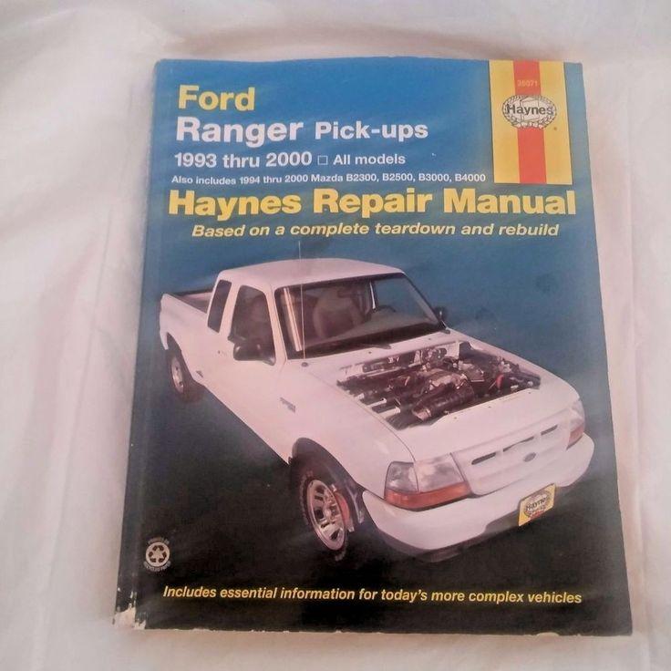 Haynes Repair Manual 1993