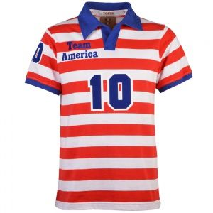 Team America 1983 Number 10 Retro Football Shirt